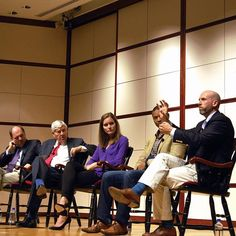 """During last weekend's Fall Convocation, SED premiered the film """"Beyond Measure."""" Thanks to Don Beaudette, Bob Graham, Emily Shapero (SED '11), Rahn Dorsey, and Chad d'Entremont for leading the panel discussion #bused #TBT"""