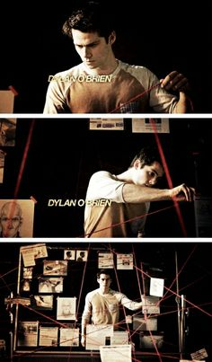 Dylan O'Brien. Opening credits for season 4. Teen Wolf