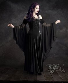 Imaginaerum Fairy Tale Romantic Wedding Dress - Handmade To Your Measurements & Colors (including plus size!) Romantic Gothic Faerie Dress