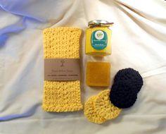 Bath Gift Set Monkey Farts Banana Candle Face by BlackWillowSoaps