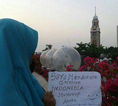 #GerakanMenutupAurat #IndonesiaMenutupAurat . Follow and Support @indonesiamenutupaurat