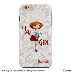 Chic, Hip LA Girl iPhone 6 Case
