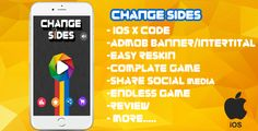 cool Alter Sides  XCODE + Admob + Full Game + Evaluation + Share + Endless Game (Games)