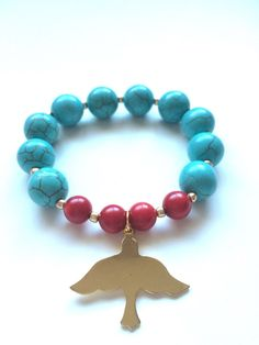 A personal favorite from my Etsy shop https://www.etsy.com/listing/228441700/dove-bracelet