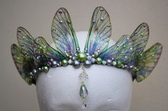 Become a Real-Life Woodland Fairy With These Enchanting Accessories - pixie - Costume Fairy Costume Diy, Woodland Fairy Costume, Fairy Halloween Costumes, Fantasy Costumes, Renaissance Fairy Costume, Fairy Cosplay, Fairy Crown, Fairy Makeup, Mermaid Makeup