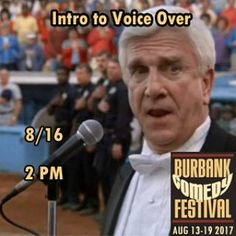 Have you ever wondered how to get voice over work? Moira Quick from Nickelodeon's GUTS Hey Arnold! and My Life as a Teenage Robot wants to teach you! More info at BurbankComedyFestival.com