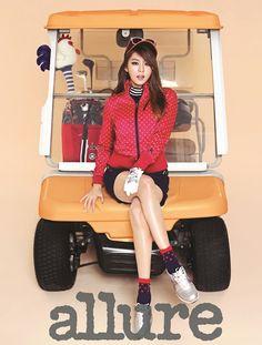 UEE (Kim Yu-Jin) ★ After School // Allure Korea // September 2013