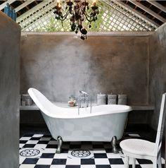 BOISERIE & C.: - Bathroom