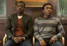 LeVar Burton on 'Community.'  Troy's reaction kills me every time!