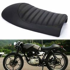"""black cafe racer motorcycle hump seat saddle for suzuki gs yamaha xj honda cb - Categoria: Avisos Clasificados Gratis Item Condition: NewBlack Cafe Racer Motorcycle Hump Seat Saddle For Suzuki GS Yamaha XJ Honda CB Specification:Brand newMaterial: ABS PU LeatherSize: 53 x 25x115cm205""""x96""""x45""""Color: BlackDurable, high quality and soft leatheretteAntipressure, waterproof, antifadeHump Styling and reaationary Black Leatherette with Black Piping,you will have an happy and comfortable rideThe Fix…"""
