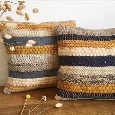 Scandi style woven pillows by wefilgood - sewing, knitting and more - # fabric . : Scandi-style woven cushions by wefilgood – sewing, knitting and more – the