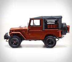 Our friends from FJ Company have just reached out to us with news on their latest Land Cruiser FJ40 restoration, and boy does it look good. Their latest masterpiece is this beautiful 1972 Land Cruiser FJ40, a build inspired by a Tonka truck the clien