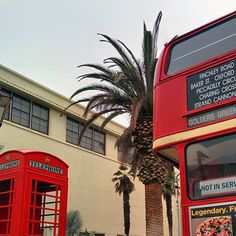 Morning fog, a red telephone box model K6, and a double-decker AEC Routemaster bus... is this #UCDavis, or #London? #oneUCDavis