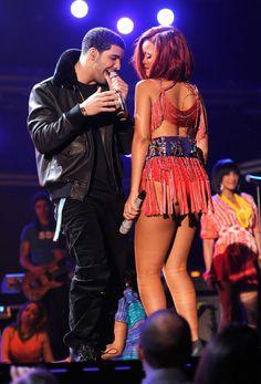 Rihanna & Drake 'Work' Music Video Shoot