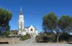 Dutch Reformed Church, Church Street, Hanover, South Africa - oorkant Ilse se huis.