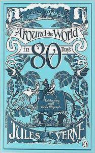 Around The World In Eighty Days Av Jules Verne Haftad