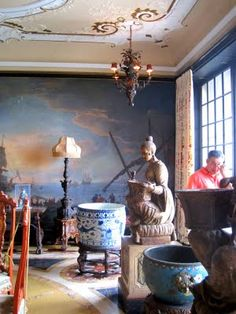 (the breakfast room) at VIZCAYA in Miami.