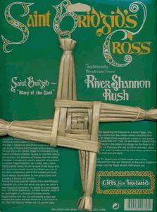 St. Brigids Cross Large.  Shannon River Rush