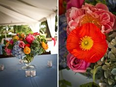 Classic pink and blue southern wedding 21