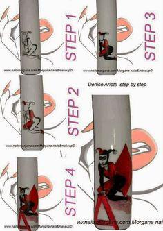 Nail art by Morgana Voss Bottle, Water Bottle, Acrylic Gel, Beautiful Nail Designs, Nail Tutorials, Nail Artist, Fun Nails, Nail Nail, Makeup