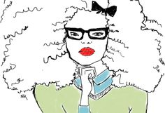 Curly Illustrator Spotlight: Nicholle Kobi (Niki's Groove)