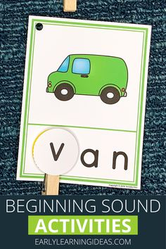 Use these CVC Beginning Sound Clip cards to help your kids hear and see the beginning sounds in words. They will love this hands-on early literacy activity...perfect for teaching early literacy concepts in your preschool, pre-k, or kindergarten classroom or at home. 17 word families are included. Looking for ideas for teaching rhyming, letter sounds, phonemic awareness, and phonological awareness? These activities are perfect for your literacy centers as independent and small group… Preschool Activities At Home, Word Family Activities, Small Group Activities, Language Activities, Hands On Activities, Literacy Activities, Literacy Centers, Kindergarten Readiness, Kindergarten Learning