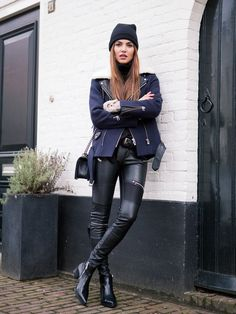 5 Everyday Ways To Style Leather Pants