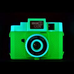 HolgaGlo 120N Neon Green now featured on Fab.