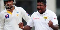 Second Test: Rangana Herath puts Sri Lanka on course for victory over Pakistan Cricket Games, Football Helmets, Victorious, Chef Jackets, Wickets, Polo Shirt, Polo Ralph Lauren, Sri Lanka, Pakistan