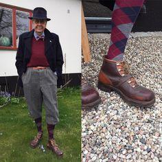 """133 Likes, 5 Comments - Ingemar Albertsson (@vintagemannen) on Instagram: """"Vintagemannen drabbar Österlen med full kraft. Idag iförd nyköpta dojor från Gröna Ladan. #vintage…"""""""