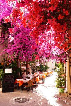 Nauplia son buganvillas y calles estrechas ( Grecia )