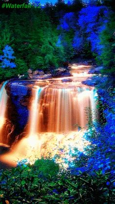 Google Beautiful Gif Pictures Places World Waterfalls