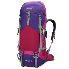 Bolang Backpacker 50l Internal Frame Hiking Backpacks Camping Backpack Outdoor Gear 8468 -- Review more details here : Backpacking backpack