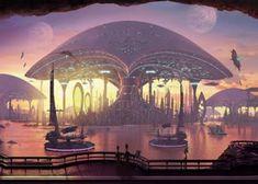 Imaginative Cities of Future Artwork