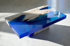 """""""Lagoon"""" Tables Put The Depths Of The Ocean Into Your Home ALEXANDER CHAPELLIN"""