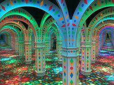 Mirror Maze Mall Of America
