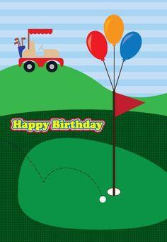 59 best golf themed cards images on pinterest golf cards golf golf birthday card m4hsunfo