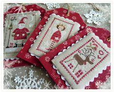 Ma petite déco de Noël - Le Blog de Cécile Diy Christmas Ornaments, Christmas Cross, Christmas Decorations To Make, Just Cross Stitch, Cross Stitch Finishing, Christmas Embroidery, Cross Stitching, Cross Stitch Patterns, Crafty