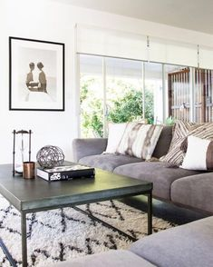 Living room inspo and designer cushions ♡ Pin for inspo!