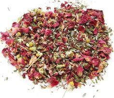 "Very pretty in pink & purple: ""Secret Garden"" tea reviewed by @SororiTEA Sisters, members of http://teatra.de"