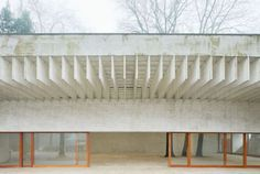 """Nordic pavilion, Sverre Fehn 1958. 2016 VENICE BIENNALE: """"REPORTING FROM THE FRONT"""" Short feature from Monocle on this year's Biennale. The curator, Chilean architect Alejandro Aravena, has given the festival a more social focus than usual, looking..."""