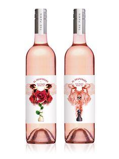 El Desperado wine packaging by BMD. PD