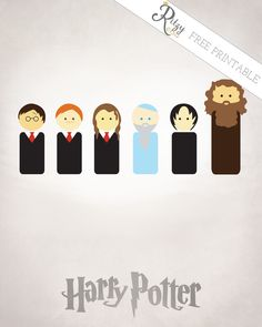 Also love this adorable Harry Potter free printable from Ritzy Reba.