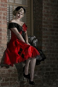 Harley Quinn Vintage Vogue by eglem