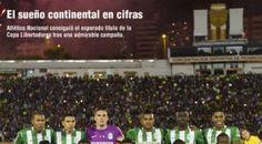La Libertadores de Atlético Nacional en cifras