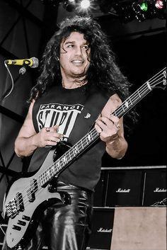 Tom Araya of Slayer.