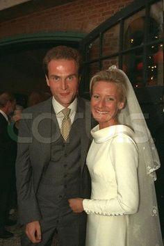 Countess Astrid Ullens de Schooten & Lionel Jadot 1996