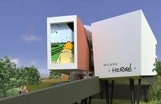 Bruxelas - rota dos quadrinhos, Museu Hergé