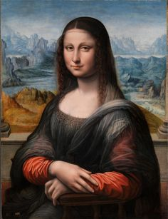 The Prado Museum's copy of the Mona Lisa believed to have been made concurrently to the original by one of Leonardo da Vinci's pupils (c. 1503-1516) [2196x2860]