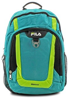 Solid construction for every day use. #FILA #Backpacks #School